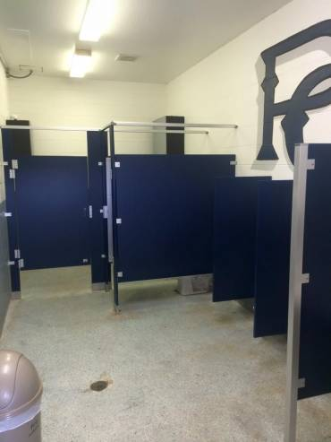 Palma Ciea Little League Bathrooms