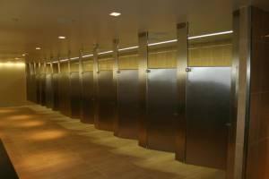 tampa airport bathroom installs