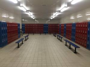 New Port Richey lockers for schools