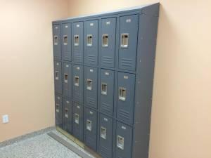 Pinch A Penny locker installation