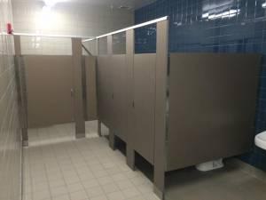 bathroom partition for schools