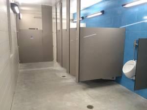 park bathroom installation